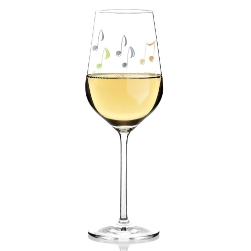 White Wine Glass - Angela Schiewer