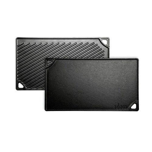 Logic Cast Iron Double Reversible Grill/Griddle 42.55cm x 24.13cm