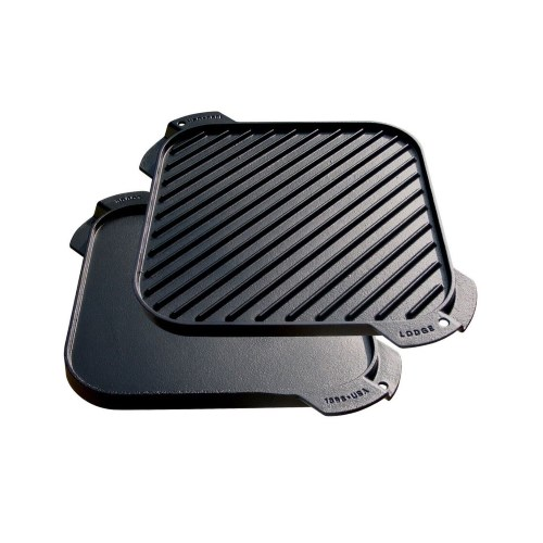 Logic Cast Iron Single Reversible Grill/Griddle 26.67cm