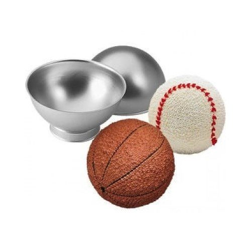 Wilton - Cake Pan - Sports Ball Set