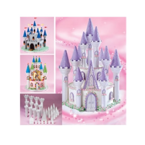 Romantic Castle Cake Set 32pc.