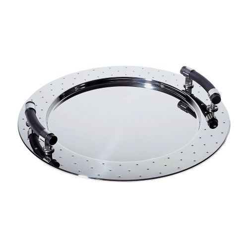 Graves Round Tray 48cm - Black