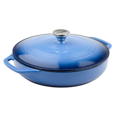 Lodge Casserole Blue