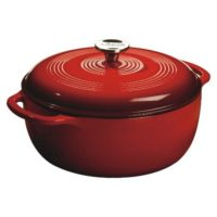 Lodge 2.9Lt Enamel Dutch Oven Red 28cm