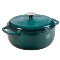 Lodge 5.7Lt Enamel Dutch Oven Lagoon 30cm