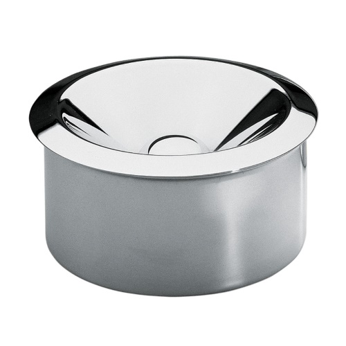 Brandt 2 Piece Ashtray Stainless Steel
