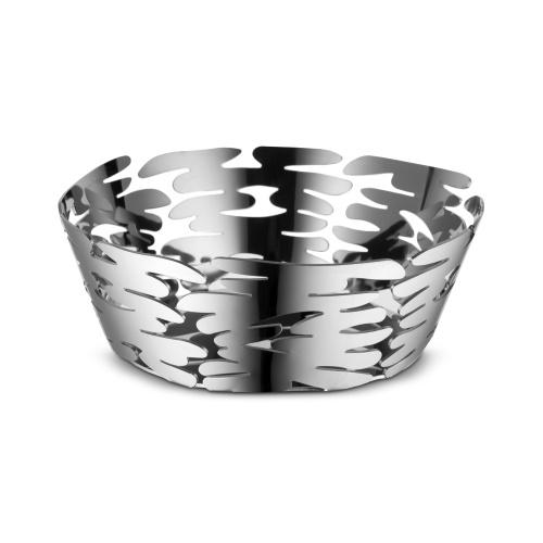 Barket Round Basket - Stainless Steel