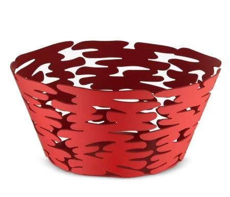Barket Round Basket - Red