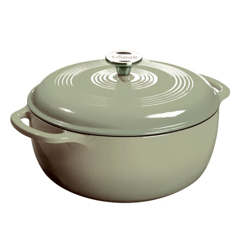 Lodge 5.7Lt Enamel Dutch Oven Desert Sage 30cm