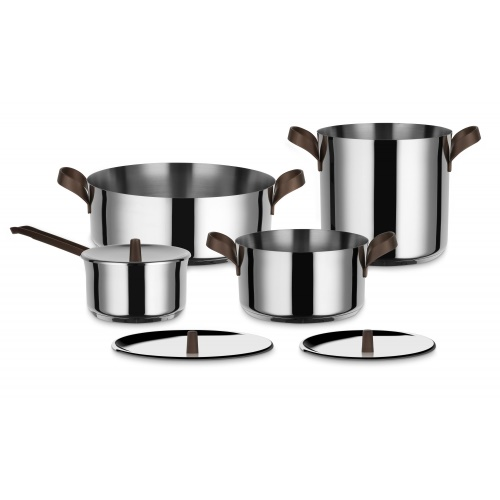 Edo 7 Pce Pot & Pan Set